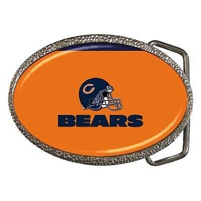 Chicago Bears Zinc Belt Buckle - NFL Football