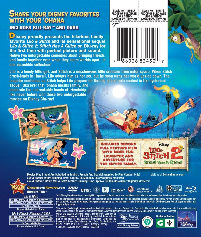 Lilo & Stitch / Lilo & Stitch: Stitch Has A Glitch Two-Movie Collection (Three D