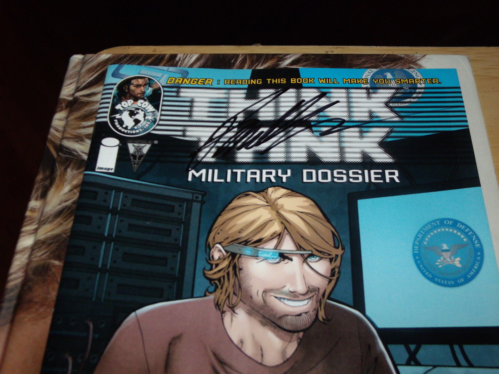 Think Tank Military Dossier SIGNED BY MATT HAWKINS (January 2013, Image)