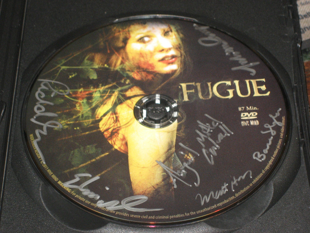 THE PAST IS PRESENT FUGUE DVD SIGNED 6X BRAND NEW W/ BONUS POSTCARD SIGNED