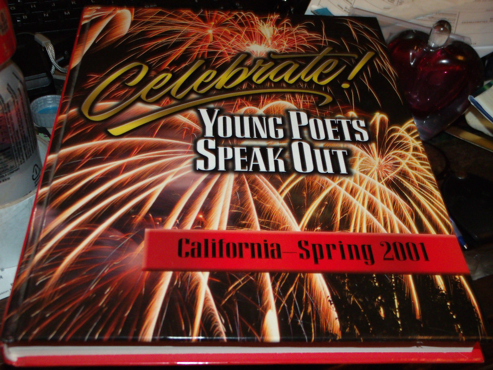 CELEBRATE 2001 YOUNG POETS SPEAK OUT BOOK SIGNED BY NICOLE GLASS