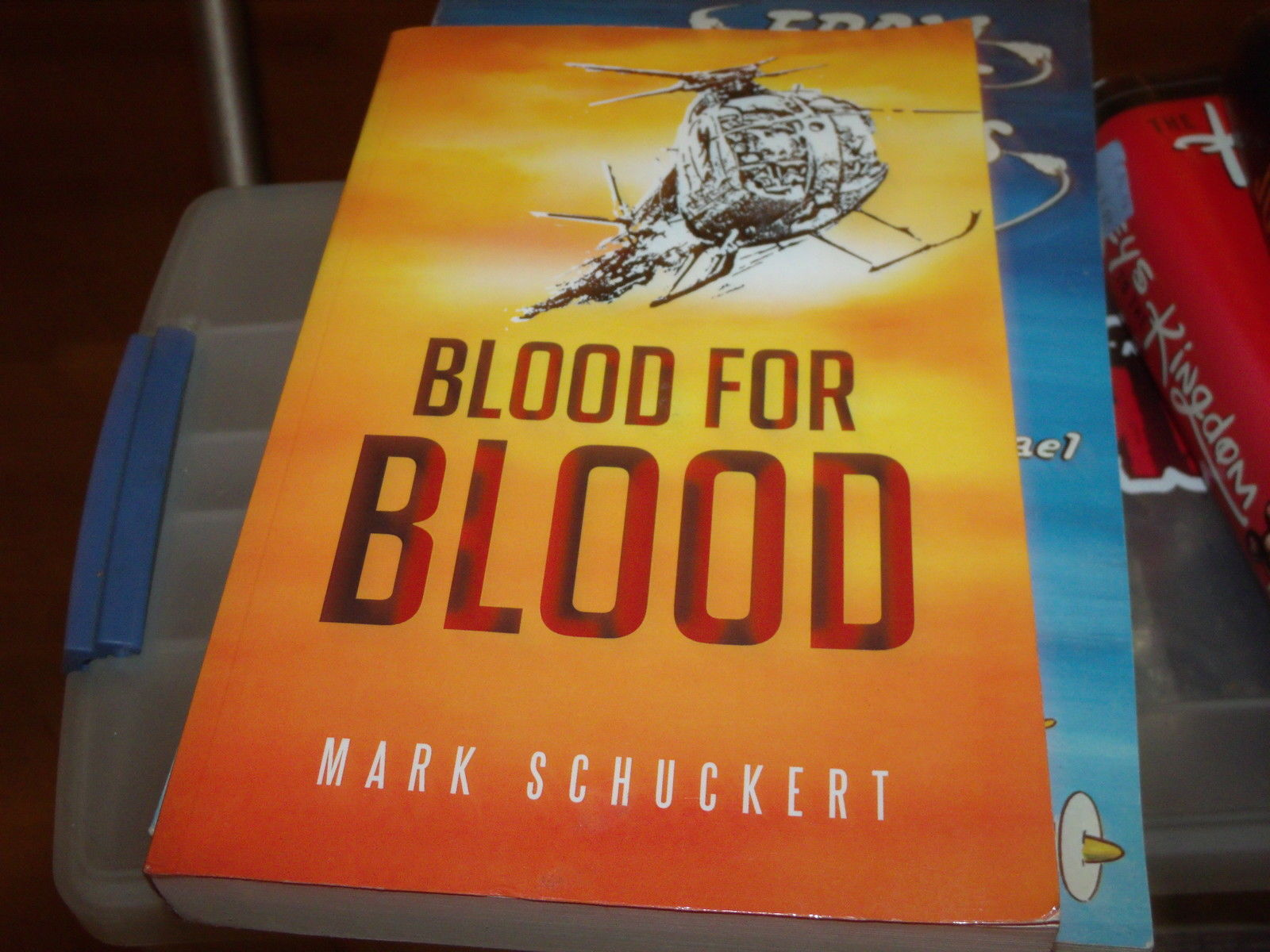 Blood for Blood : Krov' Za Krov' SIGNED by Mark Schuckert (2012, Paperback)