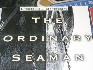 The Ordinary Seaman SIGNED by Francisco Goldman ARC UNCORRECTED PROOF