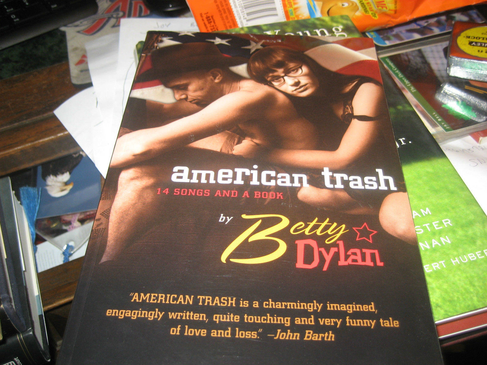 American Trash: 14 Songs and a Book SIGNED by Vickie Dubelman