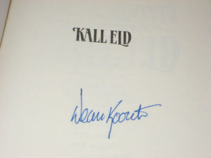 COLDFIRE SIGNED BY DEAN KOONTZ 1ST SWEDISH PRINT