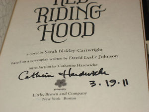 Red Riding Hood SIGNED by Sarah Blakley-cartwright +1