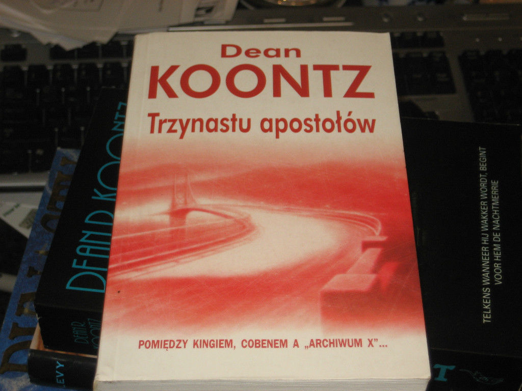 STRANGE HIGHWAYS SIGNED  BY DEAN KOONTZ RARE POLISH COPY PB 1ST