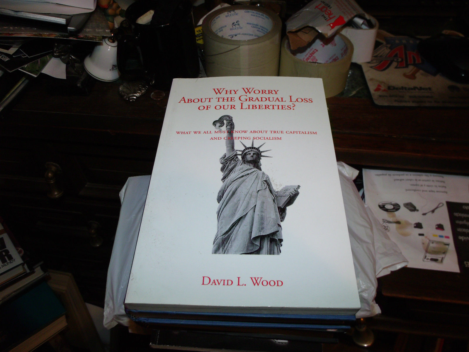 Why The Big Worry About the Gradual Loss SIGNED BY DAVID L WOOD 1ST/1ST
