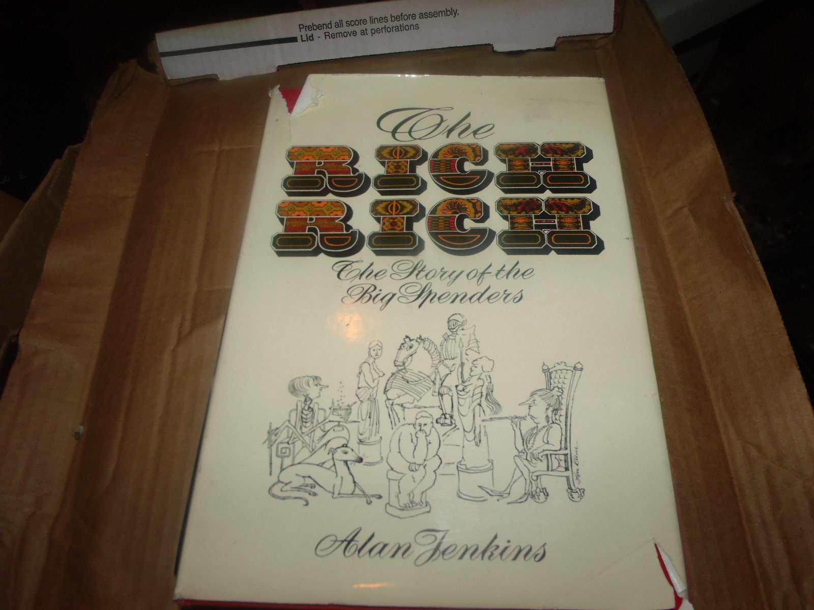 The Rich Rich by Alan Jenkins (1978, Other) SIGNED BY JOHN LANDIS