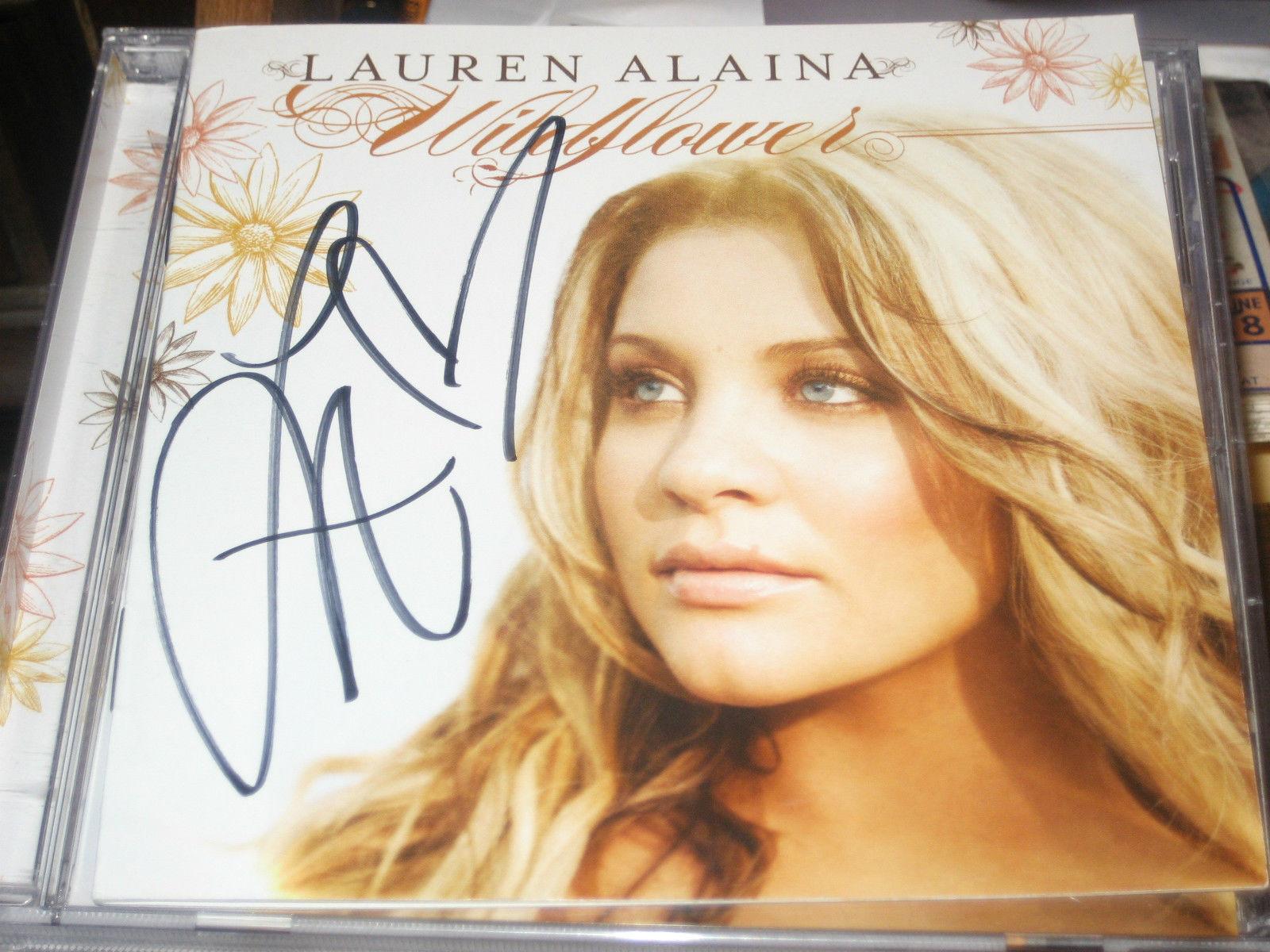 Wildflower SIGNED by Lauren Alaina (CD, Oct-2011, Mercury Nashville)