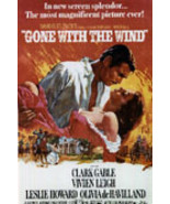 Gone With The Wind Gable Leigh Vintage 8X10 Color Movie Memorabilia Prom... - $6.99