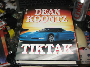 TICK TOCK SIGNED by Dean Koontz PRINTED IN FINLAND