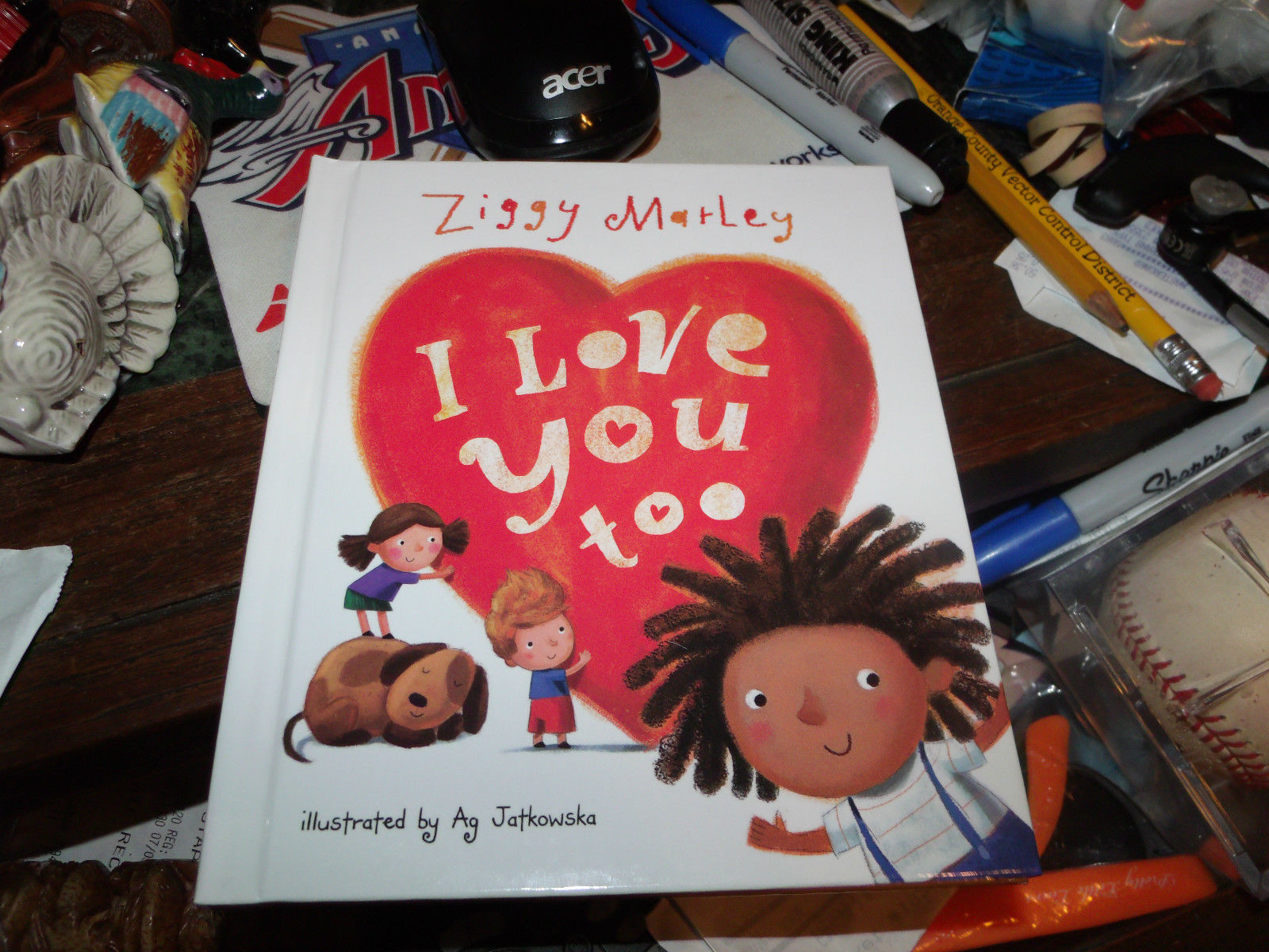 I LOVE YOU TOO SIGNED BY ZIGGY MARLEY SPECIAL EDITION HARDCOVER RARE