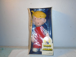 Vintage 1976 Dennis The Menace Rag Doll Sealed In Box Ideal Toys Rare - $99.99