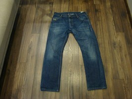 RRP 119.99 $ Diesel Industry KROOLEY Mens Jeans Size W32 L32 Perfect Con... - $18.49