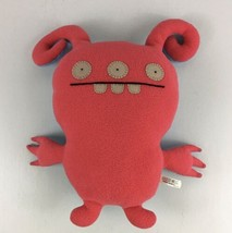 "Turny Burny 15"" Red Blue 2 Sided Uglydoll Ugly Doll Plush Stuffed Animal - $14.01"