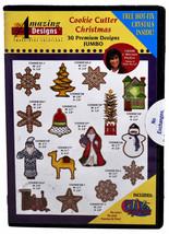 Amazing Designs Cookie Schneider Weihnachten Stickereien CD,ADP-52J - $70.57