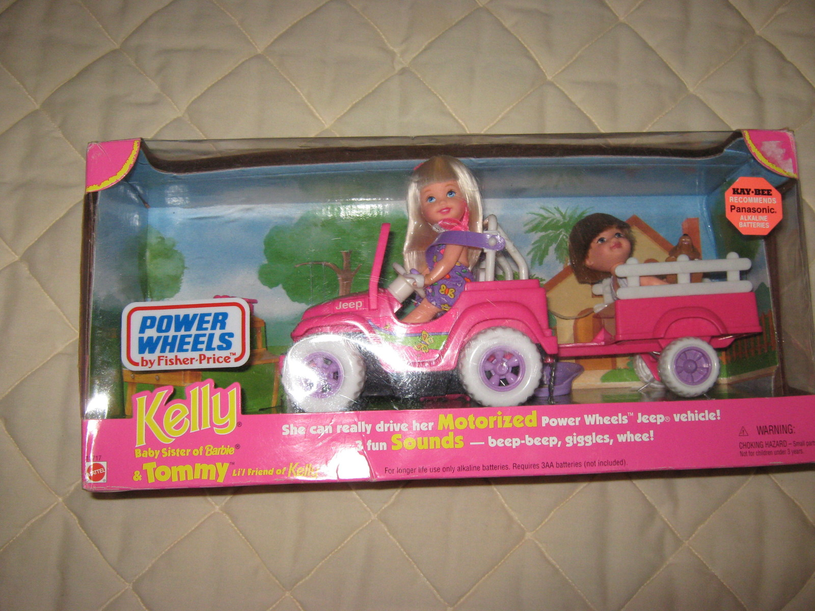 Kelly & Tommy Power Wheels by Fisher-Price