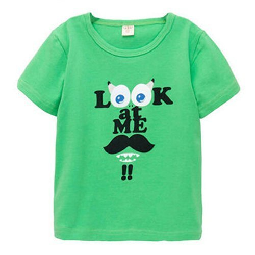Green Infant Pure Cotton Tee Baby Toddler T-Shirt 100 cm (3-4Y)