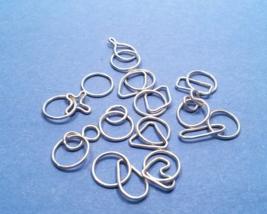 Stitch Marker Set - Silver - Handmade - Argenti... - $33.75