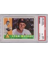 Stan Musial 1960 Topps #250 PSA 6 EX-MT - $99.00