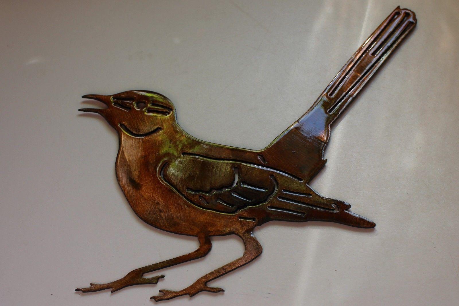 Backyard Bird Metal Wall Art