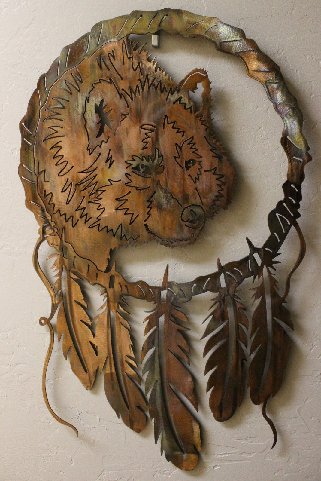 Dream Catchers  Wolf--New Series from HGMW   Wall Art by HGMW