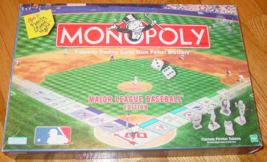 MONOPOLY MAJOR LEAGUE BASEBALL MONOPOLY GAME 1998 PARKER BROTHERS  COMPLETE - $20.00