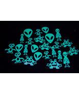 24 Piece Glow in the Dark Aliens - $5.95