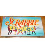 SCRABBLE JUNIOR CROSSWORD GAME 1997 MILTON BRADLEY COMPLETE EXCELLENT - $15.00