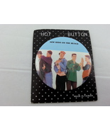 Retro New Kids on the Block Button - Still on Original Card -- Unique  - $15.00
