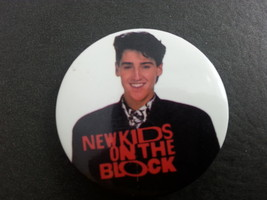 Retro New Kids on the Block Button -  Jonathan is Casual Preppy Suit !! - $12.00