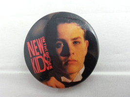 Retro New Kids on the Block Pin - Joey Facial Shot in Tuxedo - Neat - O !! - $12.00