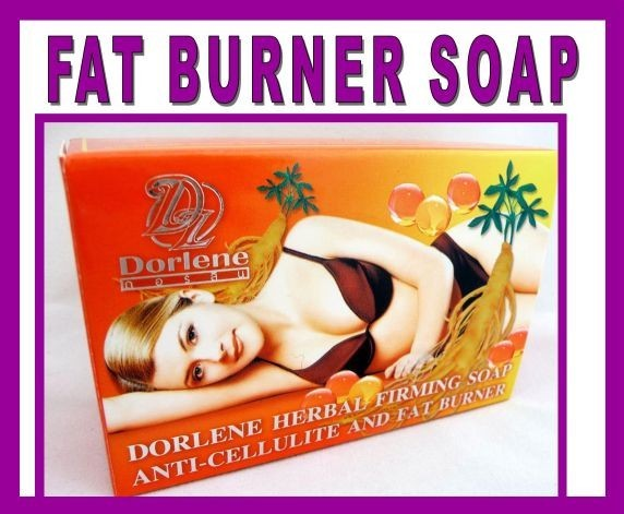 1X FAT BURNER ANTI CELLULITE Soap SLIMMING WEIGHT LOSS Diet Ginseng Vitamin E