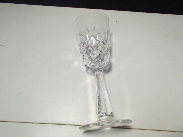 "2  Galway O'Brien  6 7/8"" Wine stems~~signed on bottom~~~~nice ones"