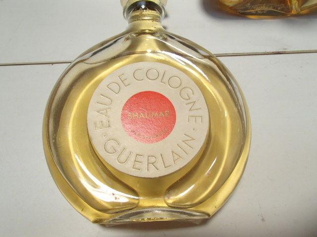 2 VINTAGE GUERLAIN SHALIMAR PERFUME / COLOGNE~~3.oz EACH ? France