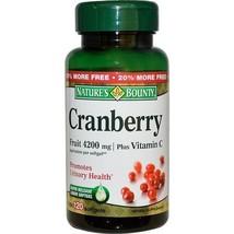 Nature's Bounty Cranberry Plus Vitamin C 4200mg... - $9.85