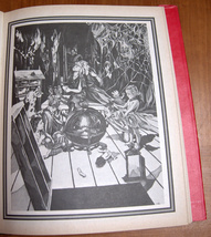 The Surrealist's Bible Dierdre Luzwick Hebrew Vintage Book Charcoal Drawing 1979 image 9