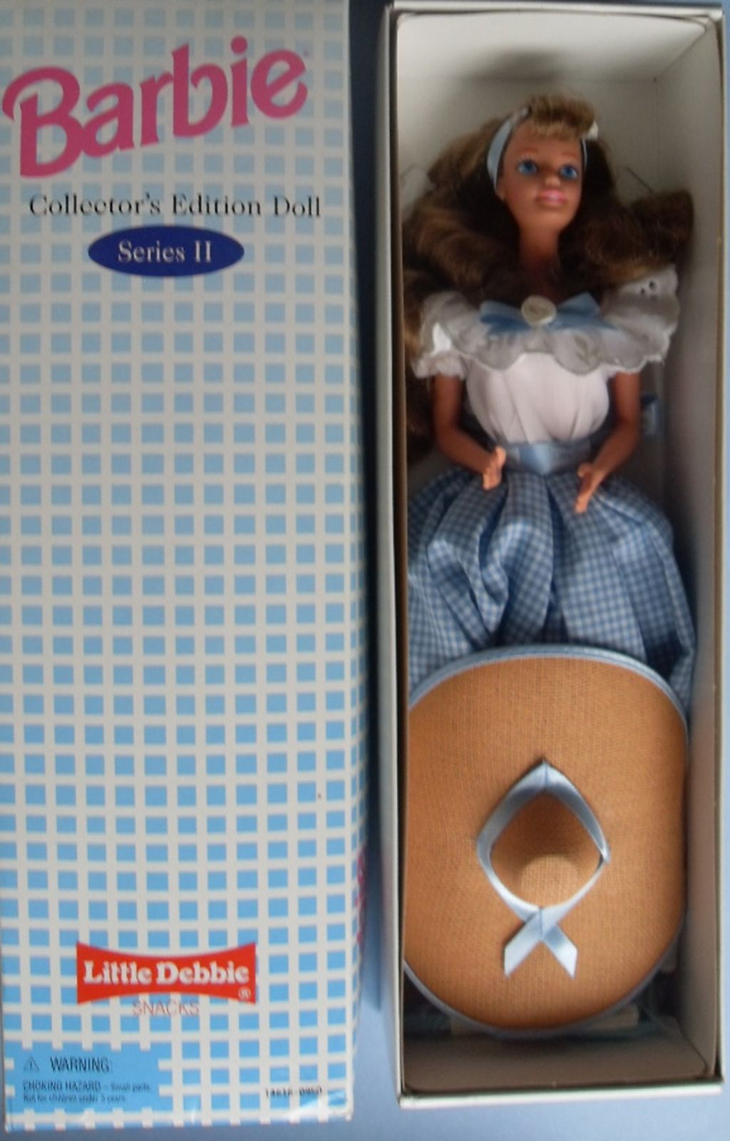1995 SERIES II   LITTLE DEBBIE  DOLL  SECOND BARBIE COLLECTOR  Edition NRFB