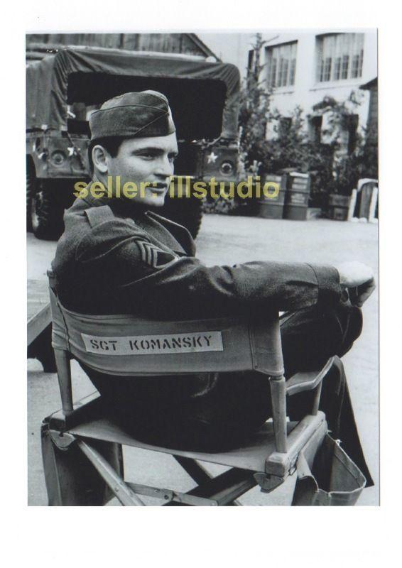 CHRIS ROBINSON is Sgt Komansky 12 O'clock High RARE 4x5 PHOTO MINT CONDITION #57