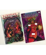 2 Autographs~Don Paresi good/Bad Girl art SISTERS of DARKNESS #2A & 2B +... - $16.78