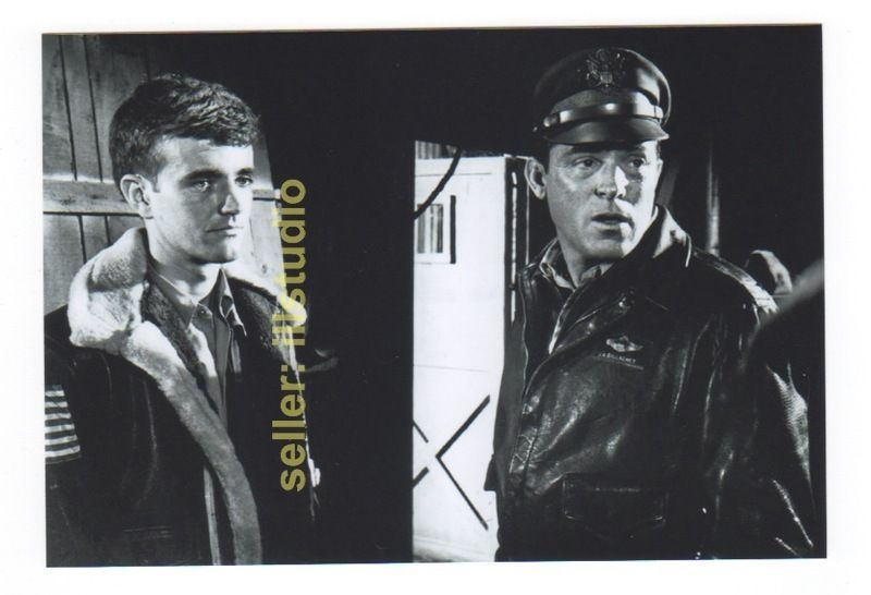 PAUL BURKE and ROBERT WALKER 12 O'clock High RARE 4x6 PHOTO MINT CONDITION #48