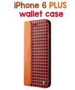 iPhone 6 PLUS Patern Genuine Leather Protective Case with Holder and Car... - $25.32