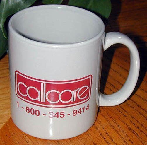 """""""CALLCARE"""" MUG"""