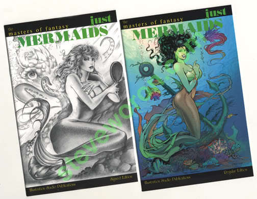 Steve Woron 1985-05 Sexy Good/Bad Girl Artist Comic Collector Run SIGNED!