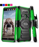 LG V20 Case Heavy Duty Hybrid Cell Phone Protector Cover Clip Holster Ki... - $12.35