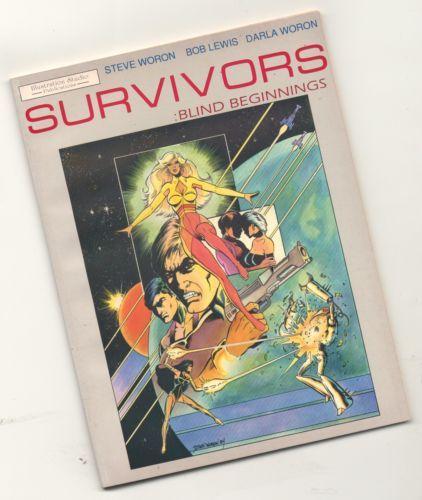 Steve Woron, Karl Kesel The SURVIVORS 1990 graphic Novel Spectrum characters!