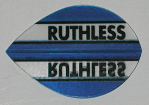 1 sets (3 flights) Xtra Strong Ruthless Blue Pear Shape flights