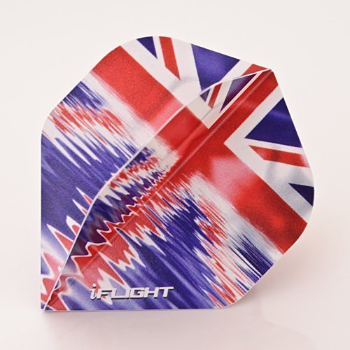RUTHLESS INVINCIBLE UNION JACK WATER DARTS FLIGHTS