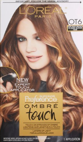 L'Oreal Paris Superior Preference Ombre Touch Hair Color, OT6 For Light Hair